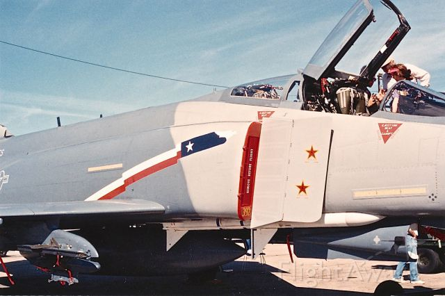 67-0392 — - Mig Killer F-4E of the USAF Reserve Squadron at KFWH air show during the earlier 1990s