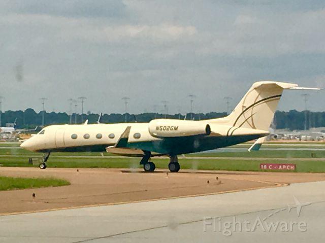 Gulfstream Aerospace Gulfstream IV (N502GM) - On way to FBO