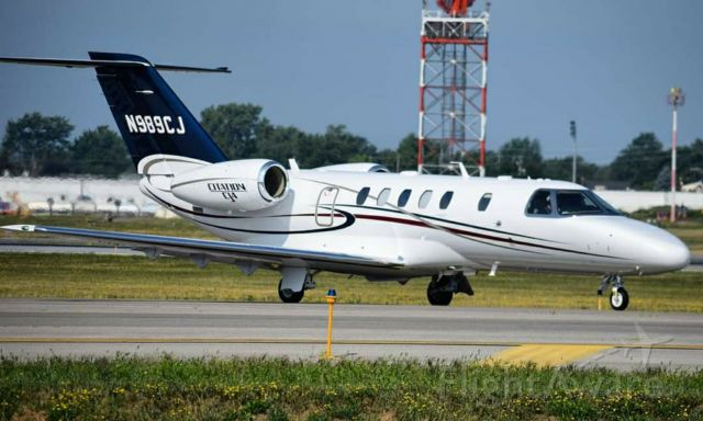Cessna Citation CJ4 (N989CJ) - Cessna Citation CJ4 owned by Textron Aviation br /br /Photo Taken August 2018