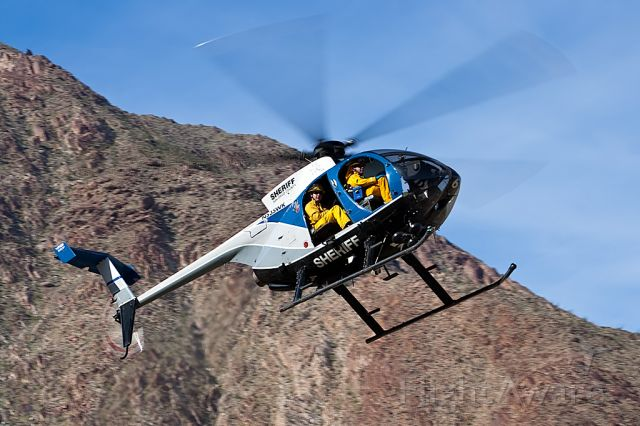 N535WK — - SAN DIEGO COUNTY SHERIFF AIR 6