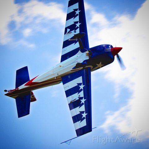 EXTRA EA-300 (N330FB) - N330FB, an Extra 330SC in the air at Leeward Air Ranchs Aviation Day.