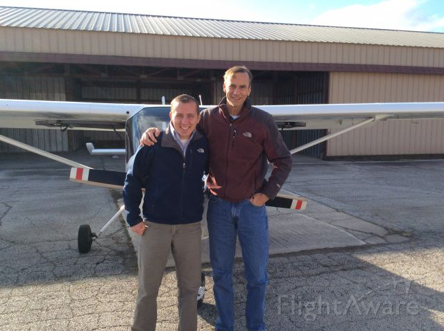 Cessna Skycatcher (N6035U) - Congratulations on your first solo!