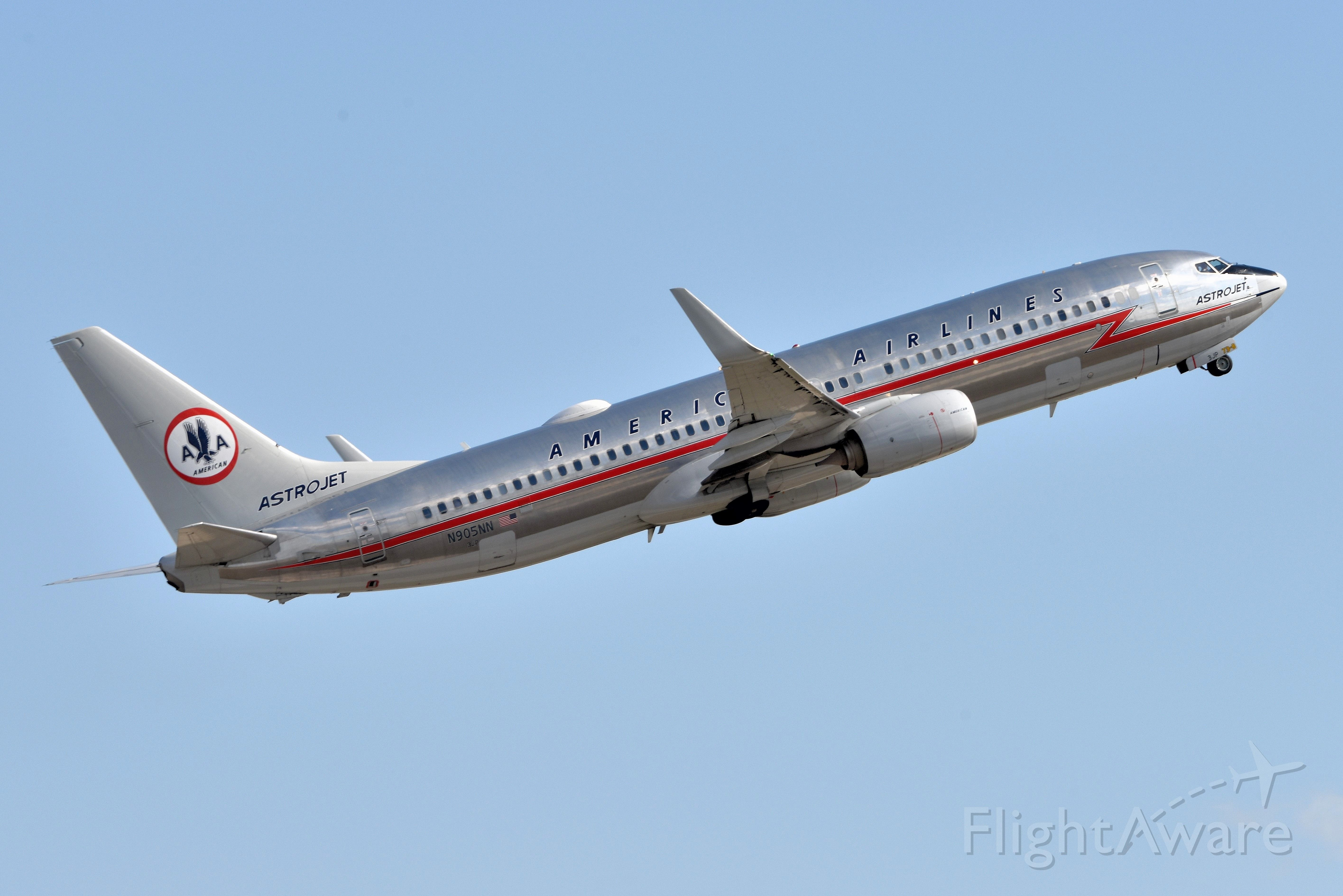Boeing 737-800 (N905NN) - 23-L Departure 03-24-21 headed back home to DFW.