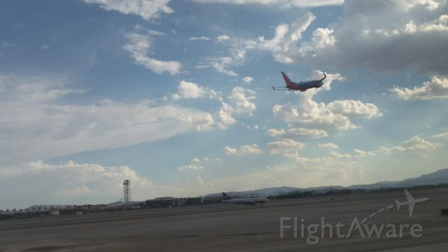 Boeing 737-700 — - Southwest 737 and US Airways A320 at Las Vegas.