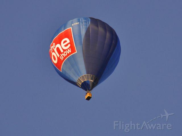 G-CDIT — - Bailey Balloons Ltd Cameron Z-105 G-CDIT in Bristol