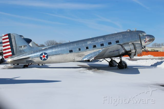 Douglas DC-3 (N47HL) - Commemorative Air Force DC-3 at Basler Aviation Oshkosh