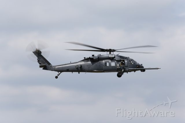Sikorsky S-70 — - A Blackhawk presently based at RAF Lakenheath, UK on its way to another mission.