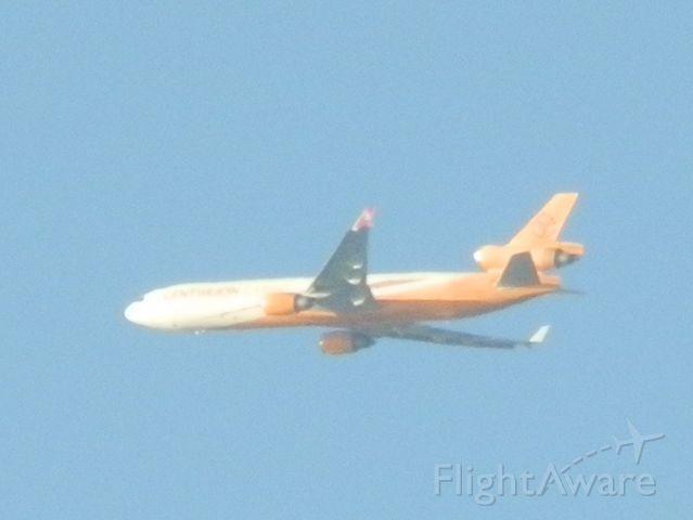 Boeing MD-11 (N986AR) - Descending into Miami