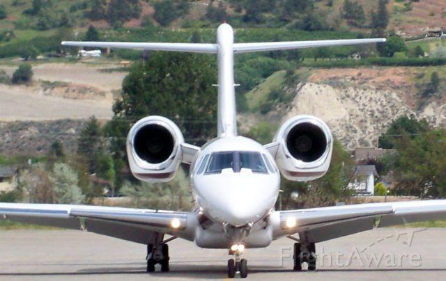 Cessna Citation X — - PENTICTON REGIONAL AIRPORT CANADA YYF - CESSNA CITATION X 750