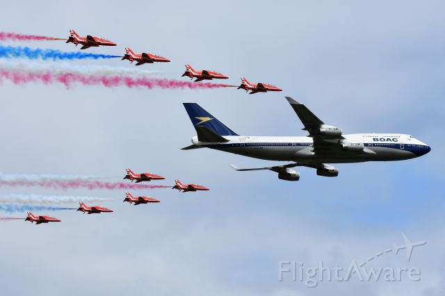 Boeing 747-400 (G-BYGC) - British Airways 747-400 with Reds at Fairford RIAT 2019<br /><br />https://www.flightglobal.com/news/articles/pictures-boac-747-retrojet-marks-british-airways-ce-455845/