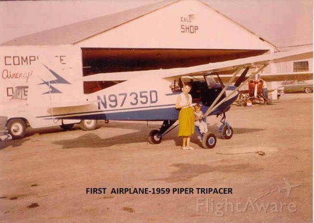 Piper PA-20 Pacer (N9735D) - My first airplane.  Bought new in Roswell,NM. <br />Phelps White, Ocala, FL.