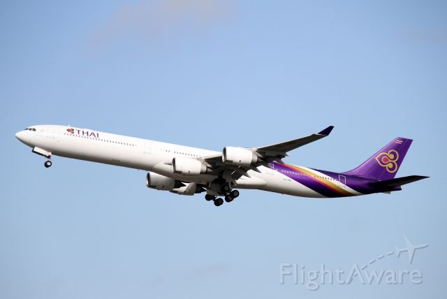 Airbus A340-600 (HS-TND) - Soon to be the world