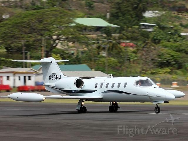 Learjet 35 (N33NJ) - Taking Off TLPC