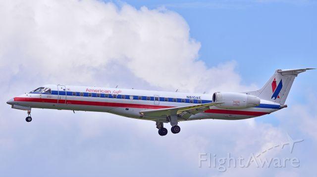 Embraer ERJ-135 (N810AE) - Envoy Air (American Eagle) Embraer ERJ-135 (N810AE) from KLGA arrives at KRDU Rwy 23R on 6/2/2018 at 12:32 pm
