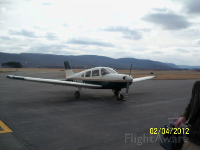Piper Cherokee (N435ND) - Day trip to NY<br />Has the Avidyne 500 installed in it.