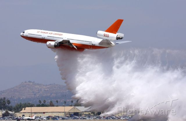 McDonnell Douglas DC-10 (N450AX) - Taken at March ARB airshow