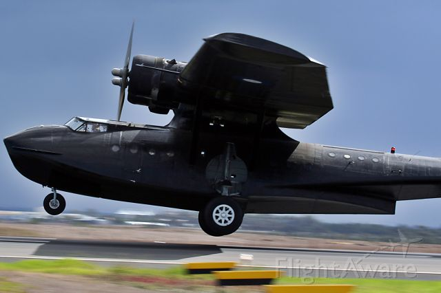 Canadair CL-1 Catalina (VH-PBZ) - Consolidated PBY Black Cat owned by www.hars.org.au
