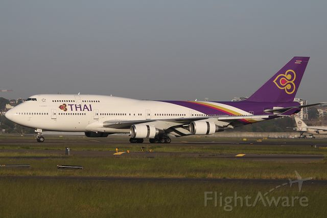 Boeing 747-400 (HS-TGB) - on 31 October 2018