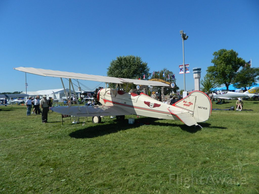 N671EB — - I took this photo at AirVenture 2017