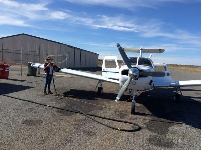 Piper Saratoga (VH-MNV) - Fills us up Kim Dobbo