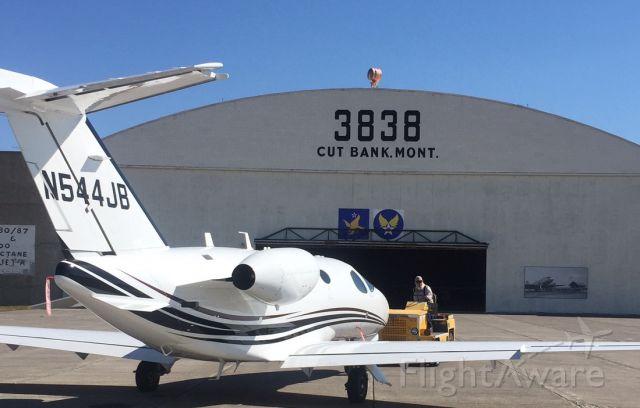 Cessna Citation Mustang (N544JB)