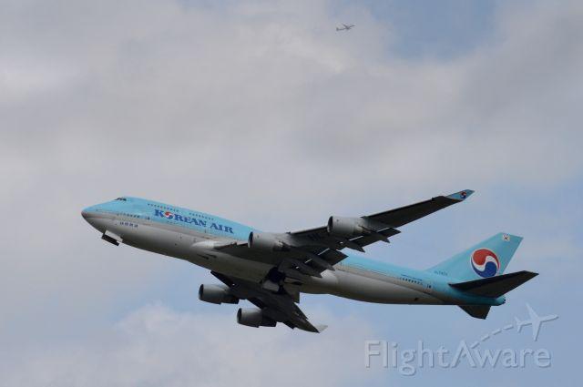 Boeing 747-400 (HL7473) - 2015-08-20