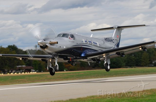 Pilatus PC-12 (N886RC)