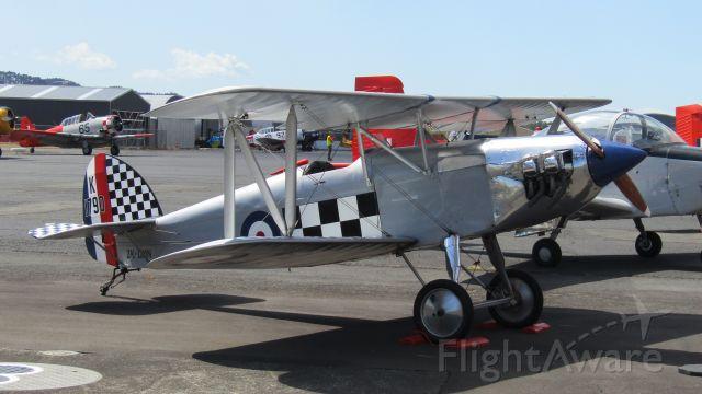 ISAACS Fury (ZK-DMN) - The cutest little biplane ever.