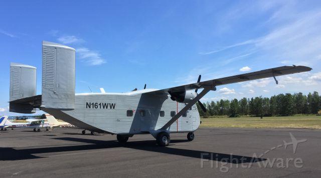 Short Skyvan (N161WW) - Pearson Airfield - July 6, 2016.