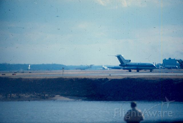 Boeing 727-100 — - Eastern 727 rolls out on runway 33 at KDCA circa 1967-70