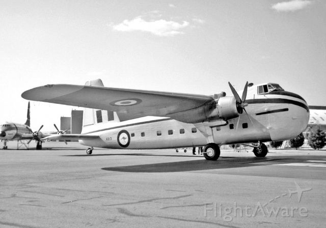 A813 — - Before civilianisation as VH-SJQ from Geoff Goodall collection 24 May 1964