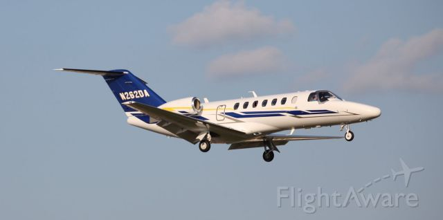 Cessna Citation CJ3 (N262DA) - Landing at  Naples Municipal (APF) in Naples, Florida on the evening of the 26th of May,2019.