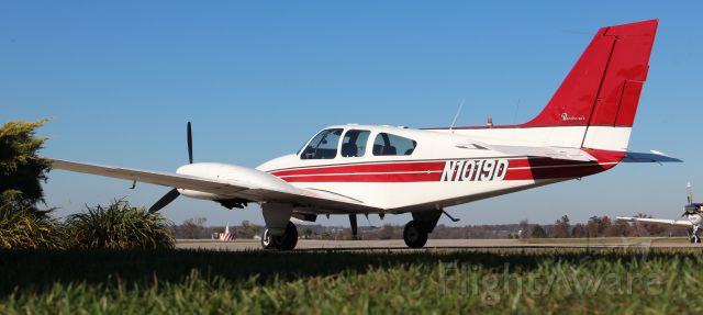 Beechcraft 55 Baron (N1019D) - Great guy (Jeff H.) used this plane for a visit (fall 2016).