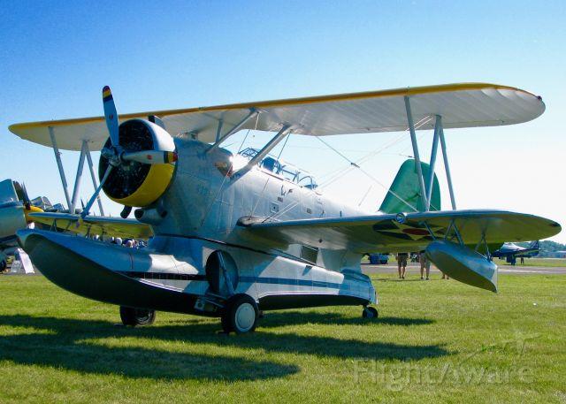 Cessna Skyhawk (N63850) - At Oshkosh. 1939 Grumman J2F-4