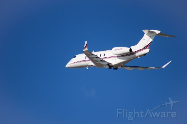 Canadair Challenger 350 (N776QS) - Taken from the Provo airport dike road.