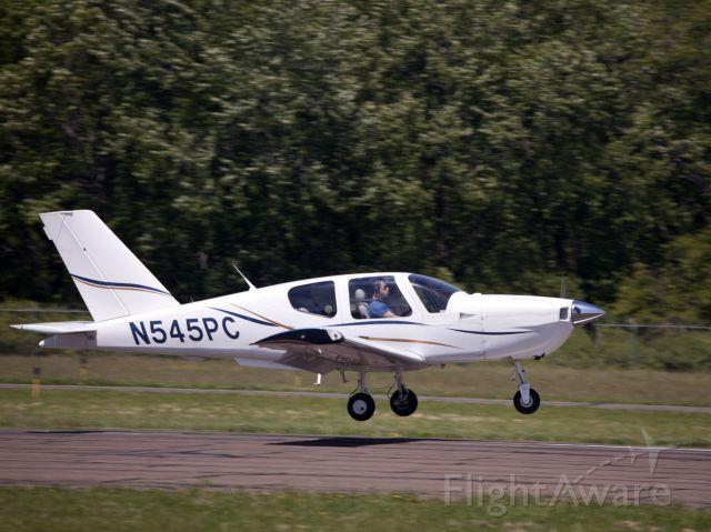 Socata TB-9 Tampico (N545PC) - Perfect landing. A very nice, French built TB9.