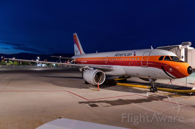 Airbus A319 (N742PS) - sitting at B18 after arriving from DFW
