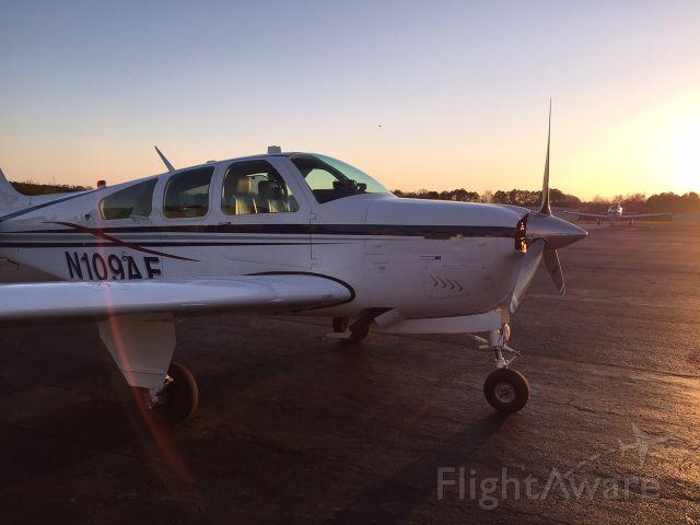 Beechcraft Bonanza (33) (N109AF) - Beautiful Alabama evening