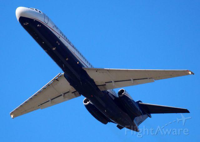 Douglas DC-9-10 (N205US) - At Shreveport Regional.