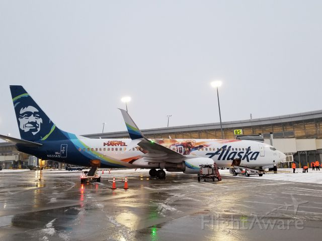 Boeing 737-800 (N531AS)