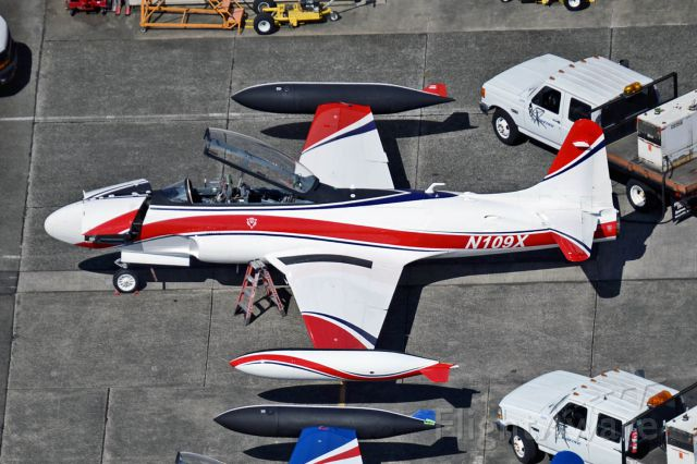 Lockheed T-33 Shooting Star (N109X) - Boeings chase aircraft