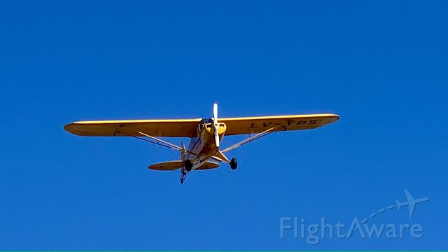 Piper L-18B Cub Special (LV-YPS) - Landing in Ensenada