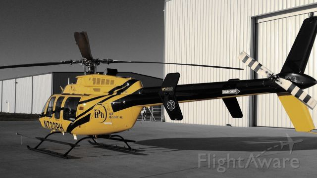 Bell 407 (N722PH) - Taken with iPhone5 at HenriksenJetCenter