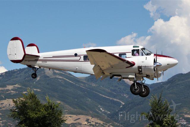 Beechcraft 18 (N50WA) - 1962 BEECH G18S