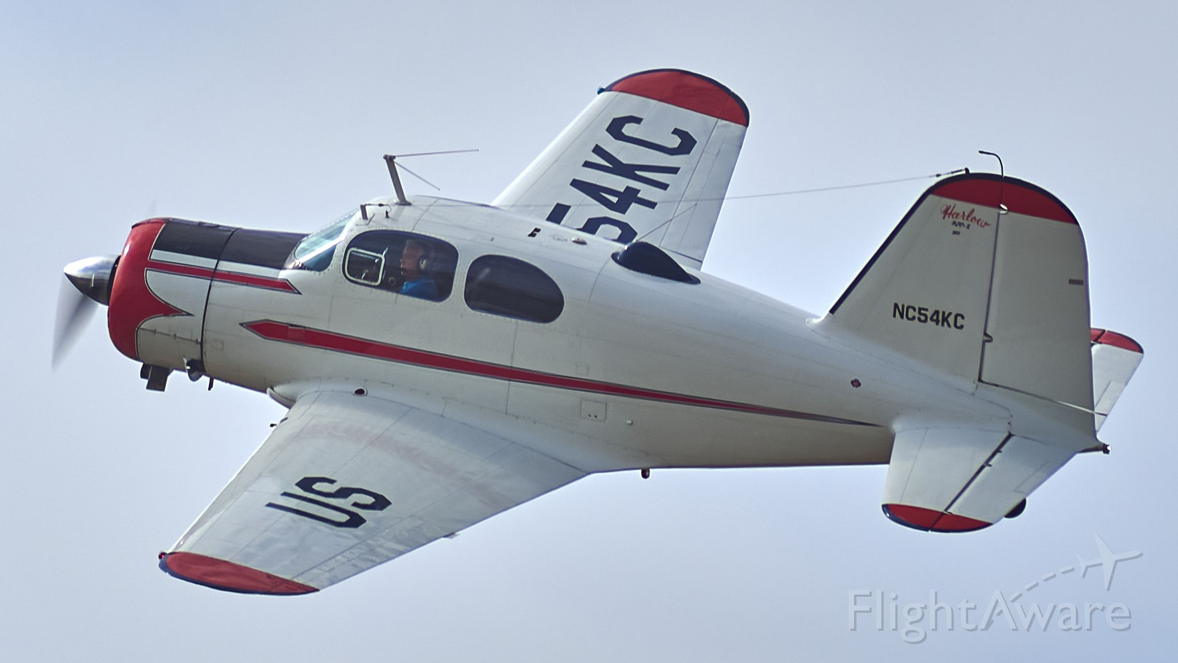 NC54KC — - Harlow on the Flex out of KBJC after a low pass over show center