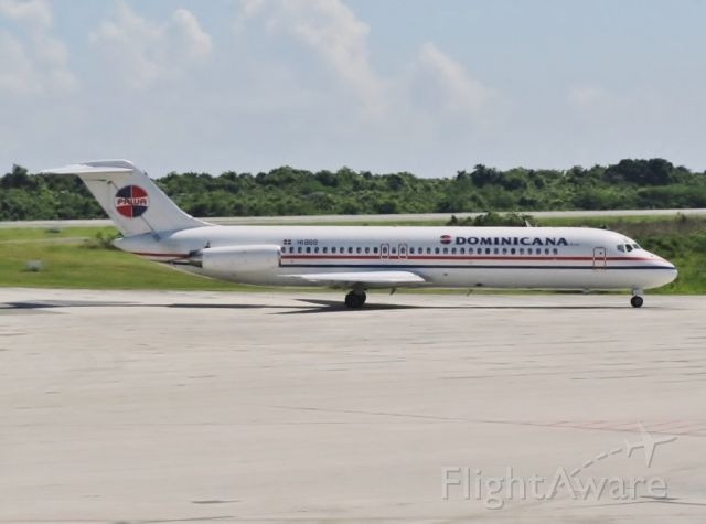 McDonnell Douglas DC-9-30 (HI869) - First version of this airline!