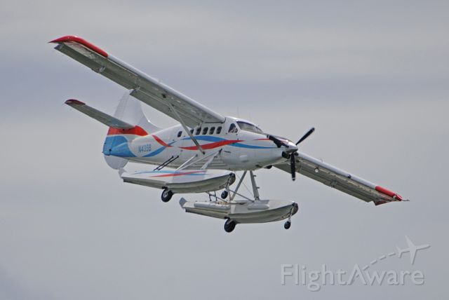 De Havilland Canada DHC-3 Otter (N435B) - Returning runway 27 from the Tortugas.<br /><br />March 6, 2020