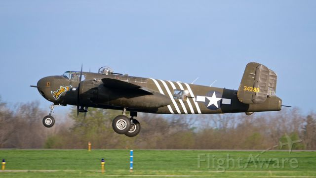 North American TB-25 Mitchell (N5548N) - B-25H-1