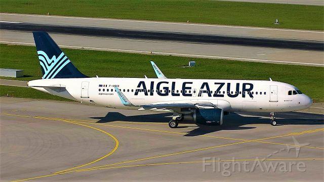 Airbus A320 (F-HBIX)