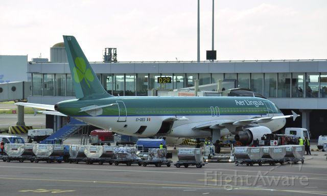 Airbus A320 (EI-DES) - Aer Lingus Airbus A320-214 EI-DES in Amsterdam